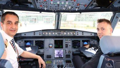 kaptan ve yardımcı pilot