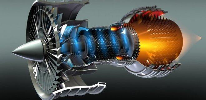 uçaklarda jet motoru
